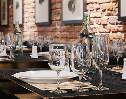 """FERMA"" restaurant, Latvia"