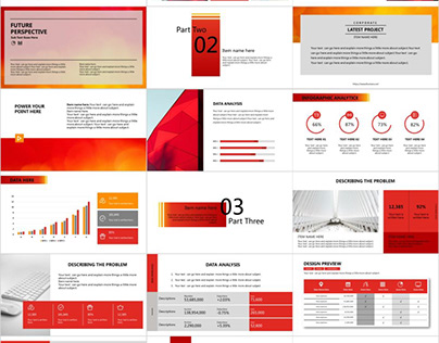 3 IN1 RED POWERFUL POWERPOINT