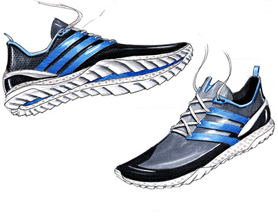Footwear Sketch Book