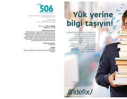 idefix e-kitap Dergi İlanı