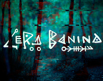 Lettering logo for the wonderful singer Lera Banina.