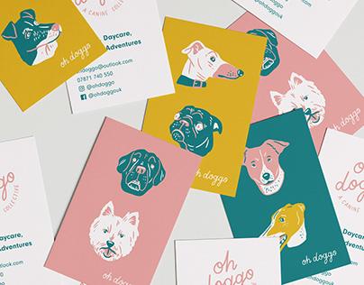 Oh Doggo - Dog Brand Illustrations