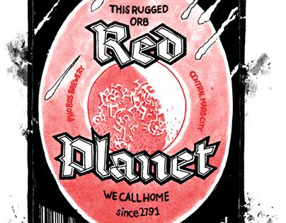 Beer of Mars - Poster
