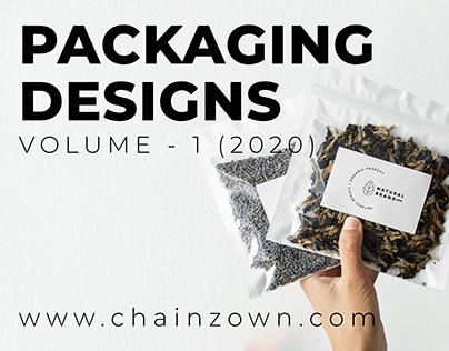 Packaging Designs Volume -1 (2020)