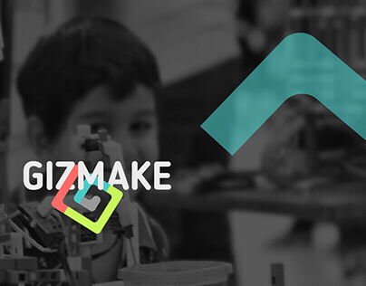 Gizmake: Concept Branding and UI/UX Design