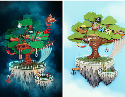 Pirate Island: Day and Night in Neverland