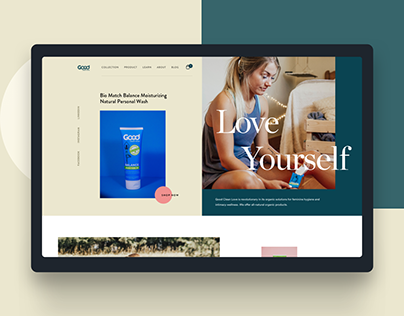 Good Clean Love - UI and UX Design