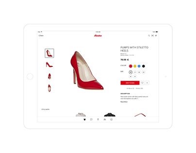 Bata Shoes iPad Associate App