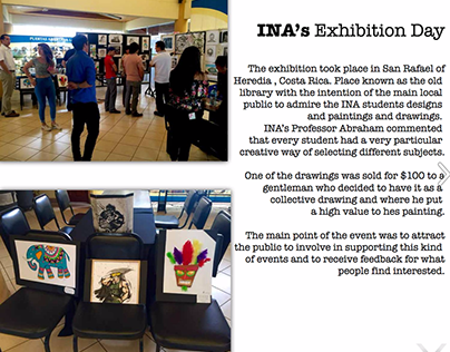 INA Graphic and Art Design Exhibition Day
