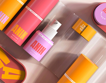 Anin Skincare Identity and Packaging
