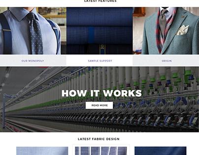 Fabric Avenue- eCommerce website design