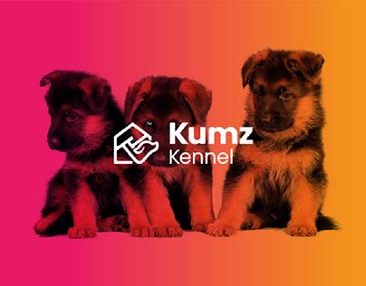 Kumz Kennel Brand Identity design