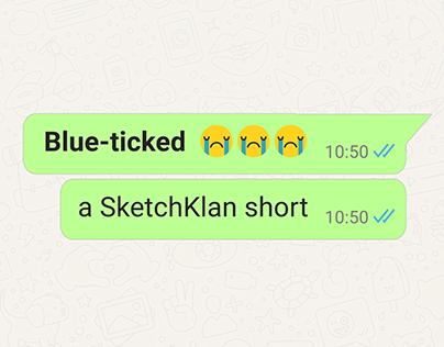Blue-ticked
