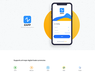 ZAPP Crypto-currency Application