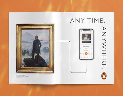 Penguin Audiobooks: Anytime, Anywhere (Ad)