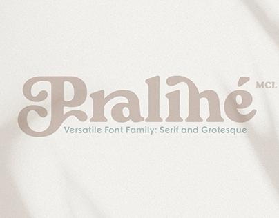 Praline Font Family