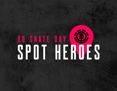 Propuesta concurso digital Día del Skate / Element