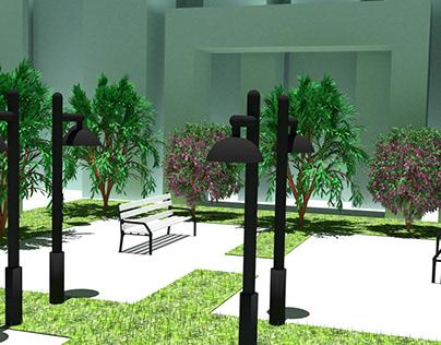 3D design indoor/outdoor
