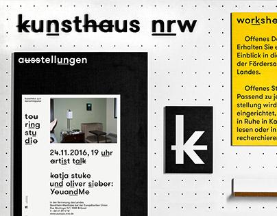 LaB K / Kunsthaus NRW – Exhibition furniture