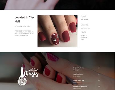 Nail Salon Website (spec)