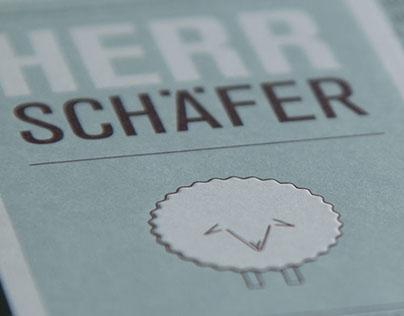 Herr Schäfer · Corporate Design