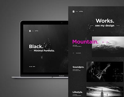 BLACK | Creative Portfolio