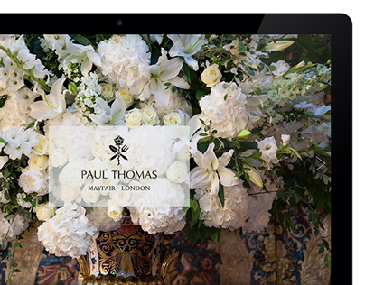 Paul Thomas Flowers Mayfair E-commerce Website