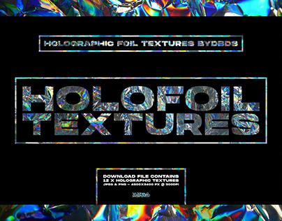 Holographic Foil Textures — byDBDS®