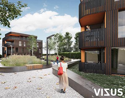 Habitations_La chaux de fonds_Switzerland