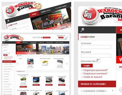 ToyDistro Retail Branding