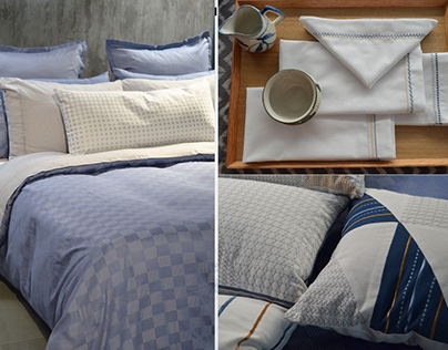 Tranquil Perse- A bedding, table and cushion collection