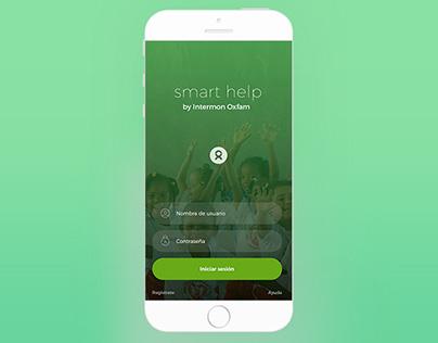 Intermon Oxfam. Smart Help. App.