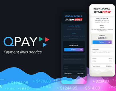 Payment links design