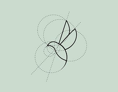 Logo + personal identity. Julia Ptashka (the Bird)
