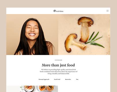Fresh Ideas Website