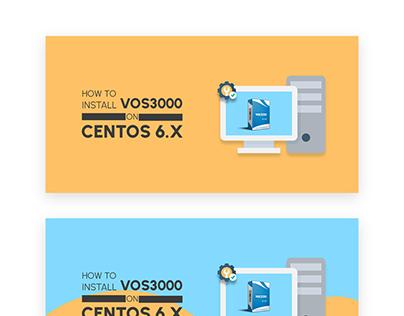 Install VOS3000 Centos Banner Design