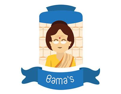 BAMA'S: Website & Brand Identity Design