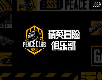 和平精英冒险俱乐部图库设计 Peace Club Graphic Kit Design