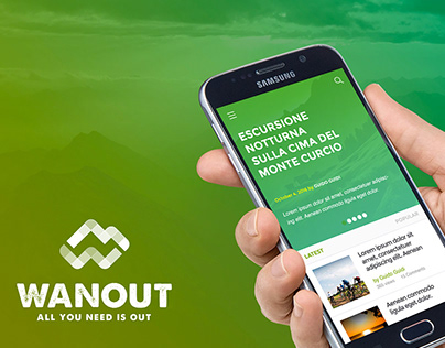 Outdoor's events app mobile