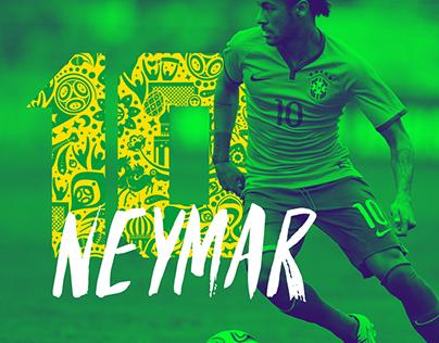Neymar Jr, Camisa 10 da Seleção Brasileira de Futebol