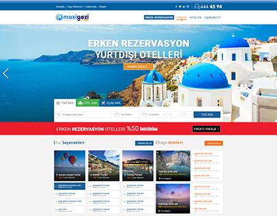 Maxi Gezi Arayüz Tasarımı