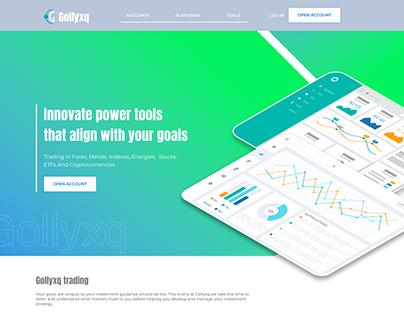 Trader website Gollyxq