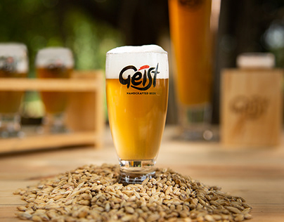 Geist Handcrafted Beer | Editorial Photos