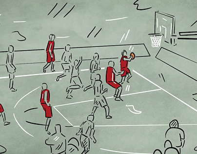 Turkish National Basketball Team Support Animation