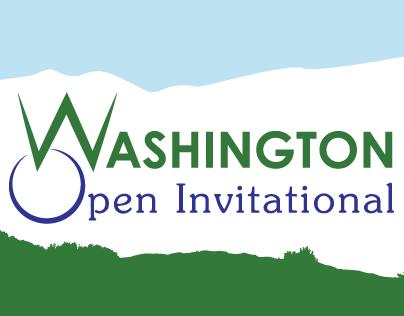 Washington Open Invitational Logo & Visual Design