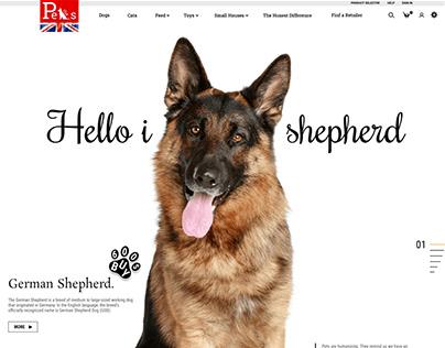 """""""The Pets"""" Web Design"""