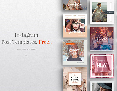 Free Instagram Fashion Post Template