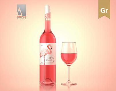 Rose Flamingo Wine