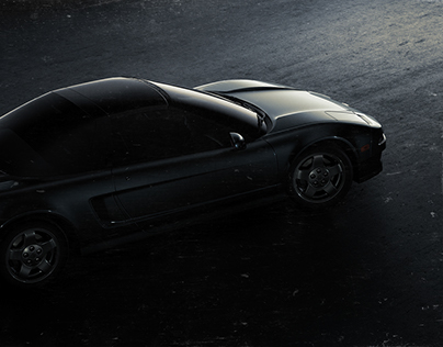 1997 Honda NSX cover recreation