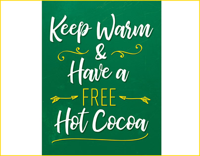 Hot Chocolate - Poster & Roll-Up Banners